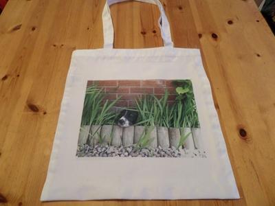 Picture of Springer Spaniel shopping bag