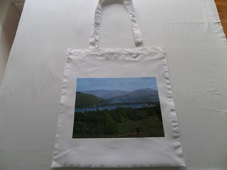 Picture of Lake  Windermere View shopping bag