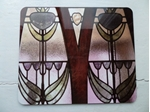 Picture of Art Deco window table mat