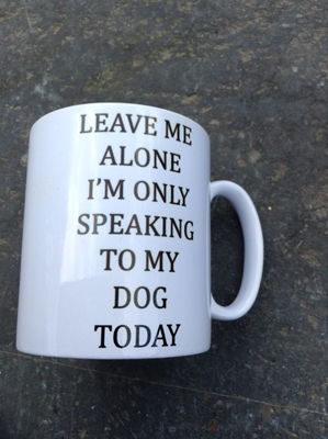 Picture of Leave Me Alone mug