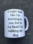 Picture of Walking the dog mug
