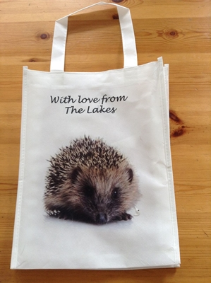 Picture of Hedgehog shopping bag