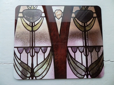 Picture of Art Deco window coaster