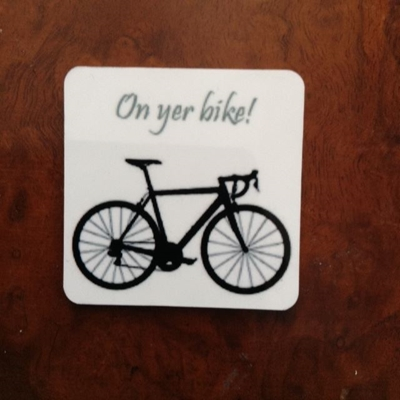 Picture of On yer bike coaster