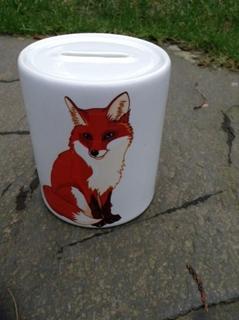 Picture of For fox sake money box
