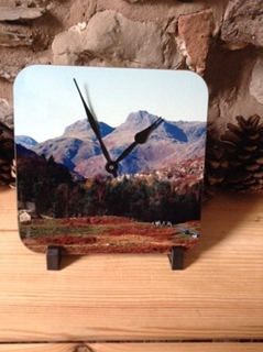 Picture of Langdale Pikes Square clock
