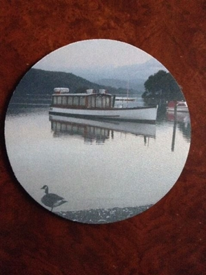 Picture of Windermere round mouse mat