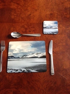 Picture of Lake District placemat and coaster set