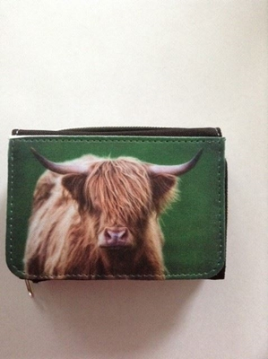 Picture of Highland cow purse