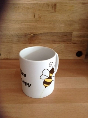 Picture of Bee happy mug