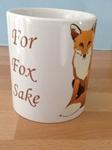 Picture of For fox sake mug