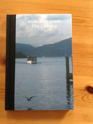 Picture of With love from The Lakes notebook