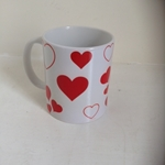 Picture of Hearts mug
