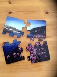 Picture of Jigsaw Coaster 4pcs with cork back