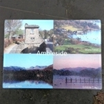 Picture of Ambleside Glass chopping board