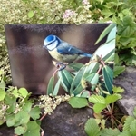 Picture of Blue tit worktop protector