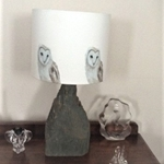 Picture of Barn Owl lampshade